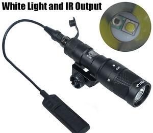 M300V-IR Scout Weapon Light 400 Lumens Mini LED White Light Infrared Light
