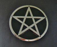 Pentagram Black Star Belt Buckle Boucle de Ceinture