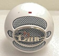 Blue Snowball Ice Condenser Microphone Cardioid - White