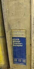 CAT Caterpillar 631D TRACTOR SCRAPER Service manual