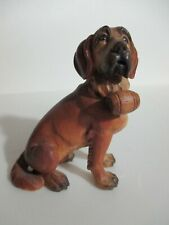St. Bernard Dog Wooden Figurine