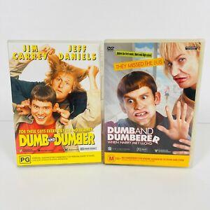 Dumb And Dumber & Dumb And Dumberer DVD Jim Carrey Region 4 Free Postage