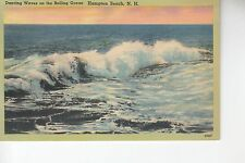 Dancing Waves on the Rolling Ocean at Hampton Beach NH