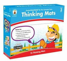 CenterSolutions for the Common Core Thinking Mats Math Grade 3 BRAND NEW SEALED!