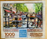 Postcard From Amsterdam 1000 Piece Jigsaw Puzzle WH Smith City Breaks Scenic