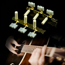2PCS Classical Guitar Tuners Tuning Keys Pegs Machine Heads Steel Goden Tone