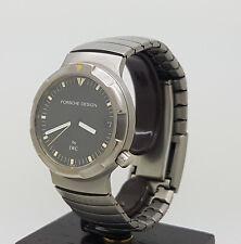 Vintage Titanium IWC Porsche Design Ocean 500 Automatic Dive Watch 3503