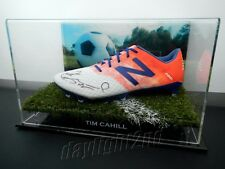 ✺Signed✺ TIM CAHILL Football Boot PROOF COA Socceroos Melbourne City 2018 Jersey