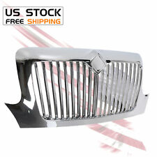 New Chrome Front Grille Grill For 02-18 International 4100 4200 4300 4400