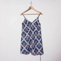 Shona Joy Size 8 Colourful Monkey Exotic Shift Dress