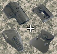 IMI Defense Walther PPQ Combo Roto Holster Interchangeable Attachment Kit