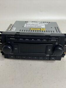 07 CHRYSLER 300 Jeep Dodge SINGLE DISC CD PLAYER RADIO P/N P05091710AE Untested