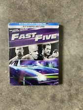 Fast Five Steelbook Blu-ray DVD Digital Best Buy Exclusive Limited Edition New