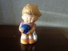 Red Clay People Girl Bowler Made in Japan