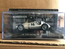 """DIE CAST """" W 154 RACING CAR 1939 """" MERCEDES COLLECTION SCALA 1/43"""