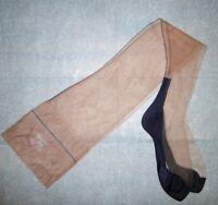 bas nylon T10 ww2 neuf couture 15d/51g cubain FF contraste stocking seamed 309/