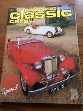 Vintage Magazine Thoroughbred & Classic Car / Film Prop Car Showroom Jan  1981