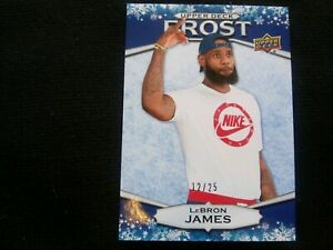 LEBRON JAMES Winter Frost 1/1 Upper Deck #12/25