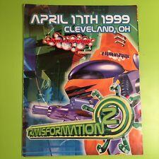 Transformation 2 - Vintage Rave Flyer 04/17/1999 EDM Music Memorabilia