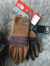 THE NORTH FACE Men's Gordon Etip Brown Fleece Gloves Size M