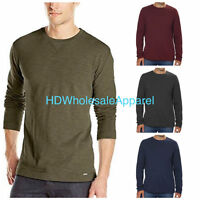 Calvin Klein Men's Slub Knit Crew Neck Long Sleeve Pullover Shirt size/color