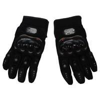 1 paire de gants de moto Gants de course Moto fibres PU Noir XL G9C4