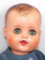 Madame Alexander Kathy Baby Doll 17in. Drink n Wet Vinyl Head Squeaker Vintage