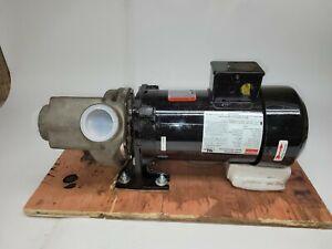 Dayton Centrifugal Pump Assembly #PPLTAD23TCG 1HP 3-Phase 3450RPM 208-230/460V
