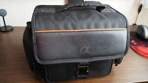 Sony Alpha Camera Bag Mirrorless Full Frame or DSLR with Pockets Shoulder Strap