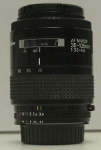 Nikon AF NIKKOR 35-105mm f/3.5-4.5 Lens