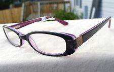 Victorious Eyeglass Frames Purple Black RX-able Women Glasses V403 Retail $58 R