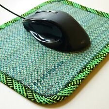 Scavenger Mouse Mat   Handmade from retired climbing rope   Eco-friendly