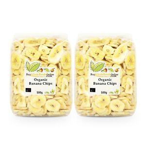 Organic Banana Chips 1kg   Buy Whole Foods Online   Free UK Mainland P&P