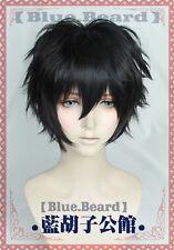 P5 Persona 5 Kurusu Akira Joker Game Costume Cosplay Wig +Track Number +Free Cap