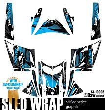 SLED WRAP GRAPHICS KIT DECAL STICKERS SKI-DOO REV MXZ SNOWMOBILE 03-07 SL10005