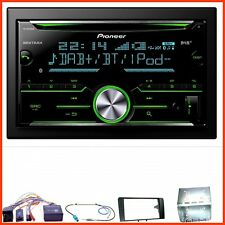 PIONEER fh-x840dab Autoradio USB DAB + CD AUX mp3 Kit Installazione Per AUDI a3 8p 8pa