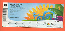 Used Ticket Fifa  World Cup Brazil 2014 NETHERLANDS - BRAZIL 3Place match RARITY