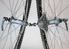 SHIMANO DEORE LX M570 MAVIC X517 BICYCLE 32 SPOKE 26 INCH 8 SPEED WHEEL SET