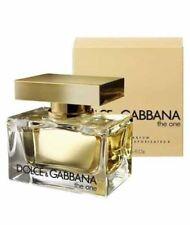 THE ONE DOLCE & GABBANA 50ML EAU DE PARFUM WOMEN NEW SEALED BOX.