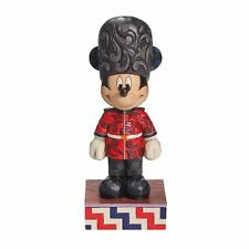 Mickey Mouse Figurine 'Greetings From England' -Disney Traditions Jim Shore