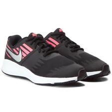 Nike Star Runner 907257-004 Trainer UK 4 Girls Shoes Black Kids Sneakers Pink