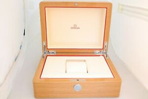 Omega Large Lacquered Wooden Watch Box