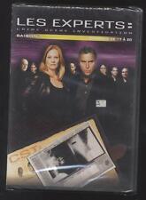 NEUF DVD LES EXPERTS CRIME SCÈNE INVESTIGATION 4 ÉPISODES N°17 A 20 SAISON 1