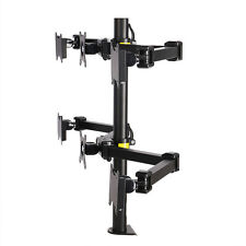 FLEXIMOUNTS Adjustable Hex LCD Arm Monitor Desk Mount Stand 6 Screens up to 24""