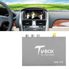 HD DVB-T2 Car Mobile Digital TV Box MPEG-1 H.264 Receiver Dual Antenna Tuner MF