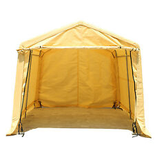 Portable Garage Storage Shed Auto Shelter Logic Canopy Carport Steel Cover Tent