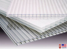 """(PACK OF 8 panels)  35"""" x 48"""" x 10mm (3/8) POLYCARBONATE CLEAR SHEETS"""