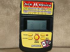 Radica Ace Deuce Red Dog Poker Casino Handheld LCD Game Tested works