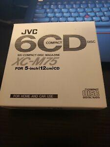 JVC XC-M75 6 CD Compact Disc Cartridge Magazine (same as Kenwood CDM-600)