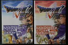 JAPAN Dragon Quest V: Hand of the Heavenly Bride Official Guide Book Complete
